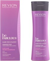 MULTI BUNDEL 4 stuks Revlon Be Fabulous Hair Recovery Cream Conditioner 250ml