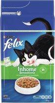 FELIX Inhome Sensations - Kip & Groenten - Kattenvoer - 4 kg