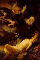 Rembrandt Van Rijn's 'abraham and Isaac' Art of Life Journal (Lined)