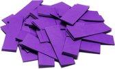 TCM FX Slowfall Confetti rectangular 55x18mm, purple, 1kg