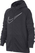 Nike Dry Hoodie - Sweaters  - grijs donker - 152