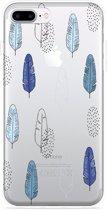 iPhone 7 Plus Hoesje Feathers Pattern