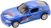 Johntoy Super Cars Die-cast Auto Blauw 10 Cm