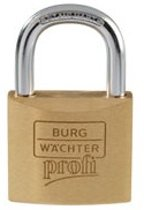 BURG WÄCHTER cilinderhangslot 116 Profi, individueel sluitend, 30 mm, 40 mm