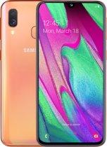 Samsung Galaxy A40 - 64GB - Koraal