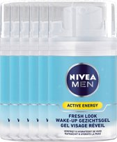 Nivea Men Q10 Wake-up Gel Voordeelverpakking