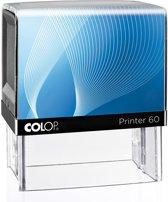 Stempel Colop 60 Zwart | Stempel laten maken | Stempels bestellen met logo en tekst | Afdrukformaat 37 x 76 mm