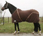 Fleecedeken met singels Harrys Horse