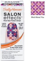 Sally Hansen Salon Effects Real Nail Polish Strips - 510 Mod About You - Nagelstickers