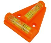 Proplus Waterpas Pyramide 6 Cm Oranje