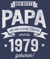 Der Beste Papa wurde 1979 geboren: Wochenkalender 2020 mit Jahres- und Monats�bersicht und Tracking von Gewohnheiten - Terminplaner - ca. Din A5