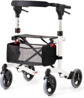MultiMotion Rollator Trollimaster RA60 Wit Small