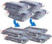 Herbruikbare Veilige Vacuüm opbergzakken - 4 Stuks