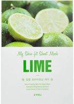 A'pieu - My Skin Lime Fit Sheet Mask