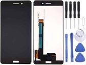 Let op type!! LCD Screen and Digitizer Full Assembly for Nokia 6 TA-1000 TA-1003 TA-1021 TA-1025 TA-1033 TA-1039(Black)