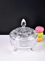 Sener paci - Globe glazen bonbonniere 16 cm