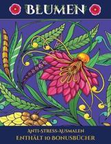 Anti-Stress-Ausmalen (Blumen)