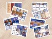 planner Stickers algemeen  WINTER 2015  voor Mascha Planner