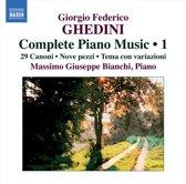 Ghedini: Compl.Piano Music 1
