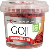 Lucovitaal - Super Raw Food - Goji bessen - 120 gram - Superfood