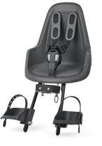 Bobike One Mini - Fietsstoeltje Voorzitje - Urban Grey