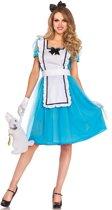 Klassieke Alice in Wonderland jurk | Dameskostuum Medium