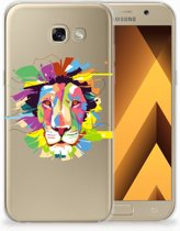 Samsung Galaxy A5 2017 Uniek TPU Hoesje Lion Color