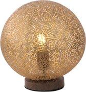 Paul Neuhaus - Tafellamp - 1 lichts - H 325 mm - Roestbruin