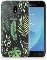 Samsung Galaxy J3 2017 Uniek TPU Hoesje Leaves