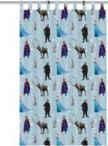 disney frozen gordijn blauw