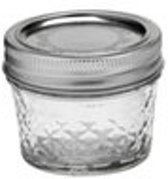 Mason Jar Ball Quilted Crystal Jelly 4oz | 120 ml 12 st.