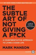 Boekomslag van 'The Subtle Art of Not Giving a F*ck'