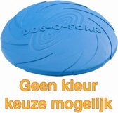 Rubber Frisbee Dog - Apporteren - Assorti - 18 cm