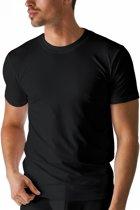 Boru Bamboe | heren t-shirt | mt. M | zwart| korte mouw | ronde hals