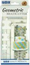 PME Geometrische Multi-Uitsteker Puzzelstukjes Set/3