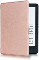 Shop4 - Kindle Hoes - Book Cover Lychee Roze Goud