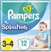 Pampers Splashers Wegwerpbare Zwemluiers - Maat 3-4 - 6 tot 11kg- 12 stuks