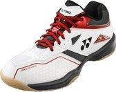 Yonex Badmintonschoenen Power Cushion 36 Wit/rood Heren Maat 40