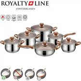 Royalty Line 12-delige Cookware pannenset