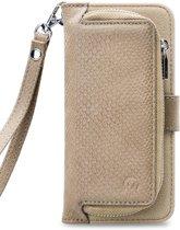 Mobilize 2in1 Gelly Wallet Zipper Case Samsung Galaxy A40 Latte