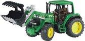 Bruder John Deere Tractor met Voorlader