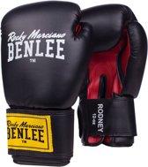 Benlee Rodney Bokshandschoenen  Vechtsporthandschoenen - Unisex - zwart/wit/rood/geel