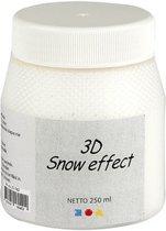 3D Sneeuw Pasta, wit, 250ml