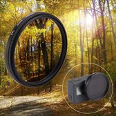 52mm 3 in 1 ronde cirkel CPL Lens Filter voldaan Cap voor GoPro HERO 5