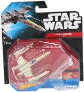 Hot Wheelz Star Wars X Wing Fighter – 6x5cm | Starship Voertuig | Speelgoed voor Jongens en Meisjes | Starfighter