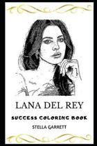Lana Del Rey Success Coloring Book