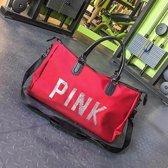 Grote dames Travel Bag pailletten schoudertas vrouwen handtas dames draagbare waterdichte tas (rood)