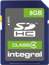 SDHC 8GB Integral