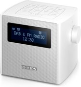 Philips AJB4300 - Wekkerradio met DAB+ - Wit
