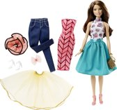 Barbie Fashion Mix & Match - Brunette - Barbiepop